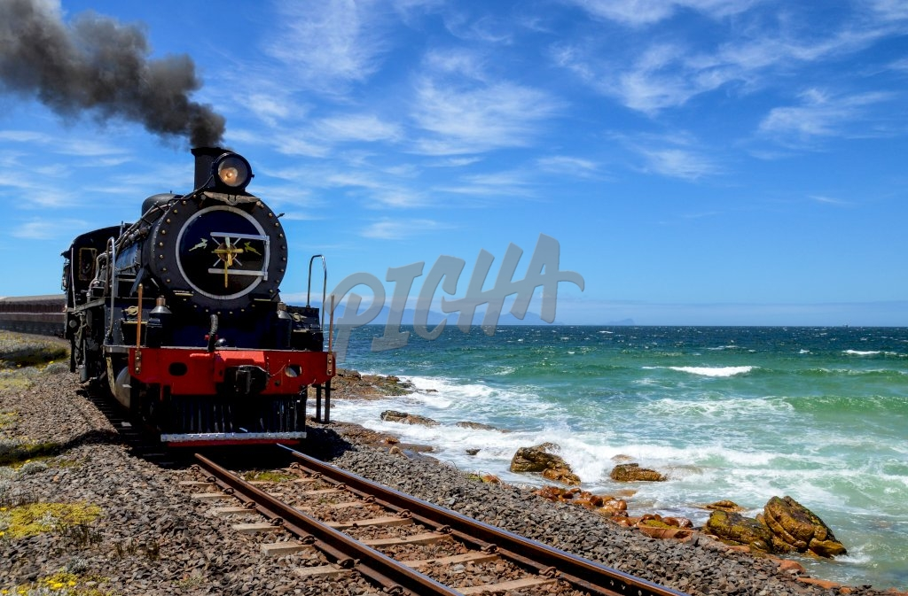 Railway on the Bay, South Africa