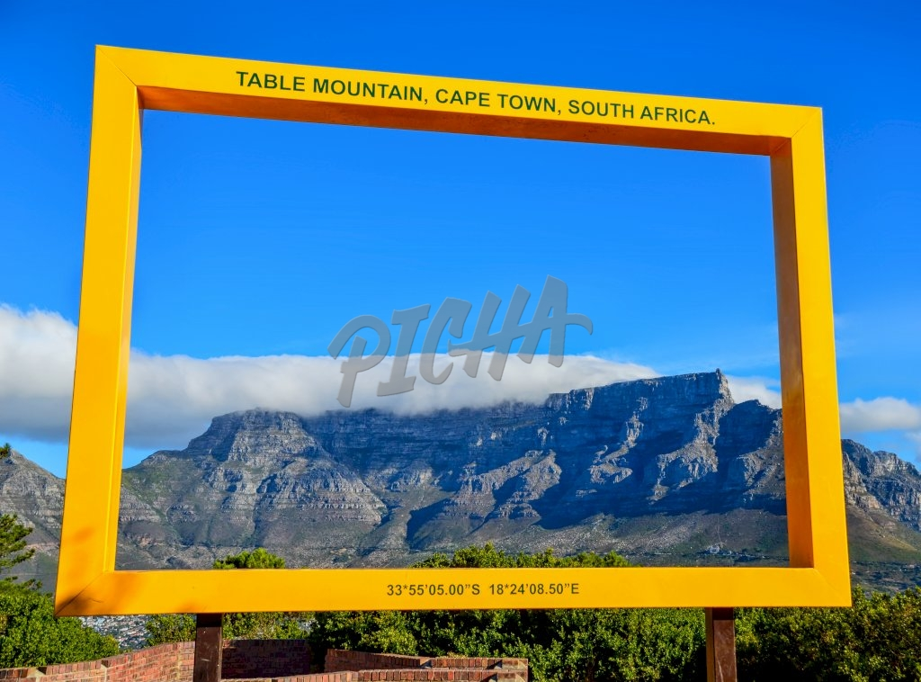 Table Mountain signage