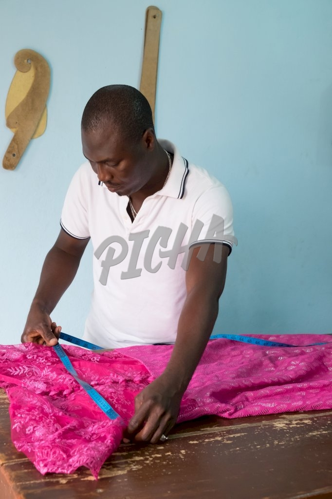 Tailor at work