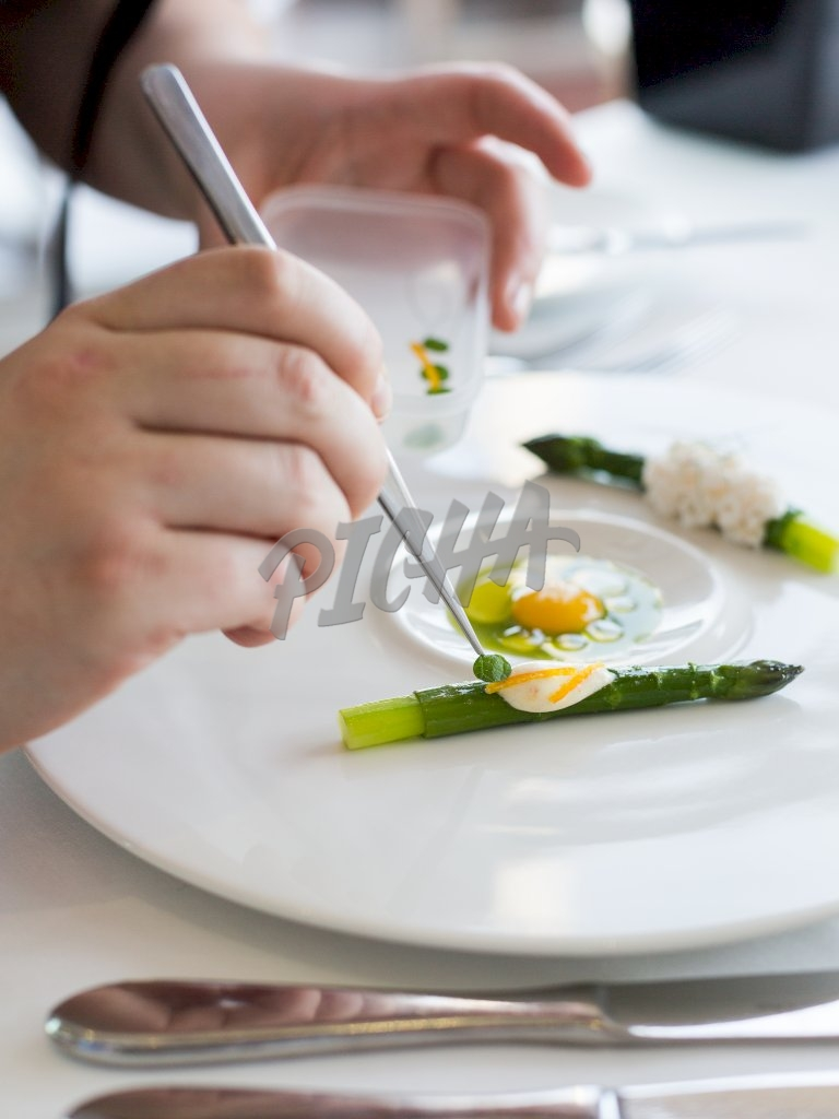 Delicacy food styling