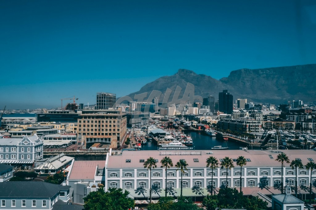 View of the waterfront in Cape Town, South Africa