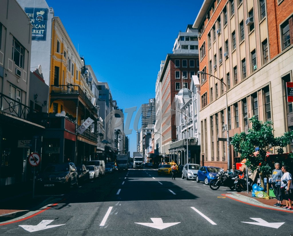 Street of Cape Town