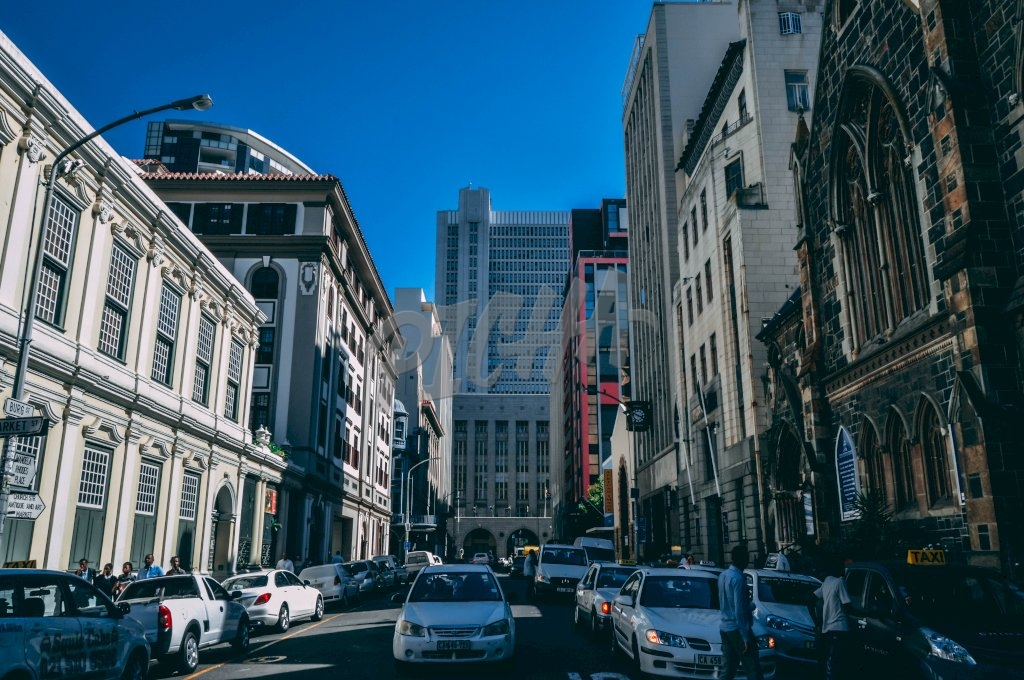 Street life in Cape Town