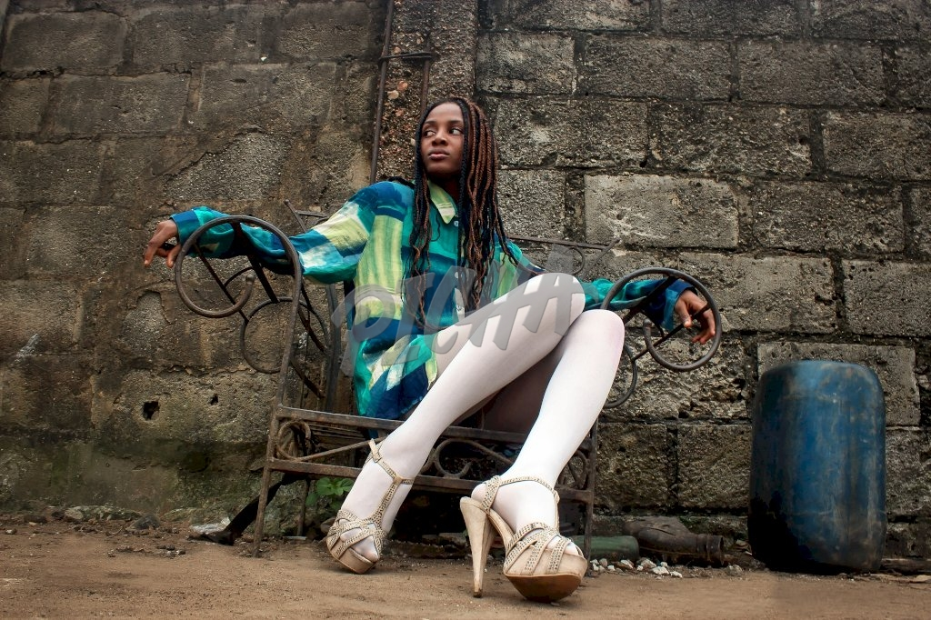 Urban woman with style