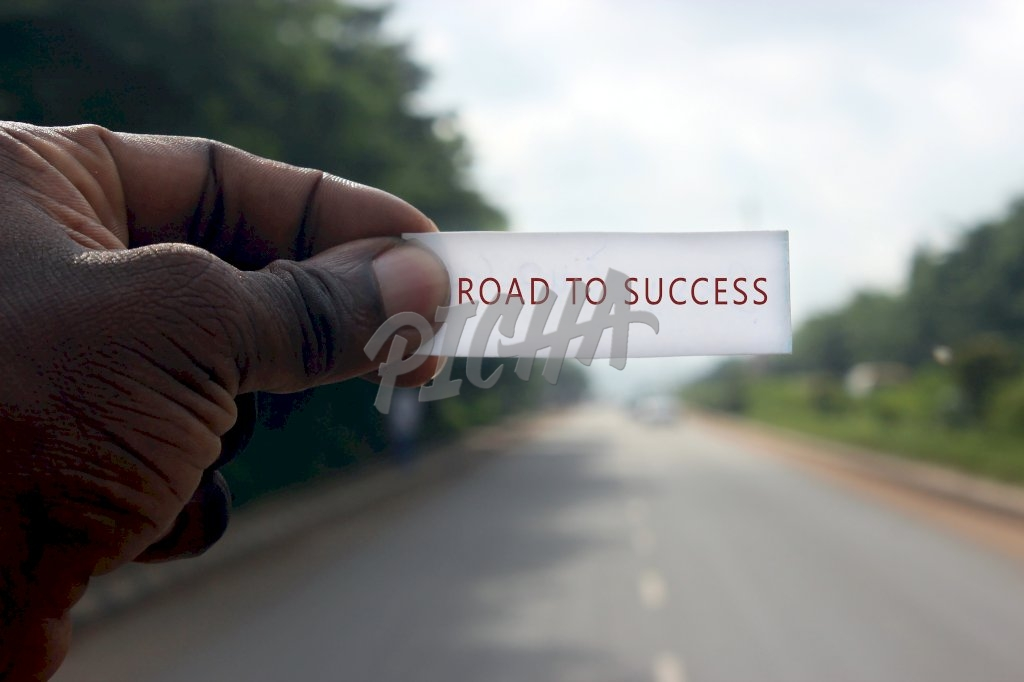Road to success.