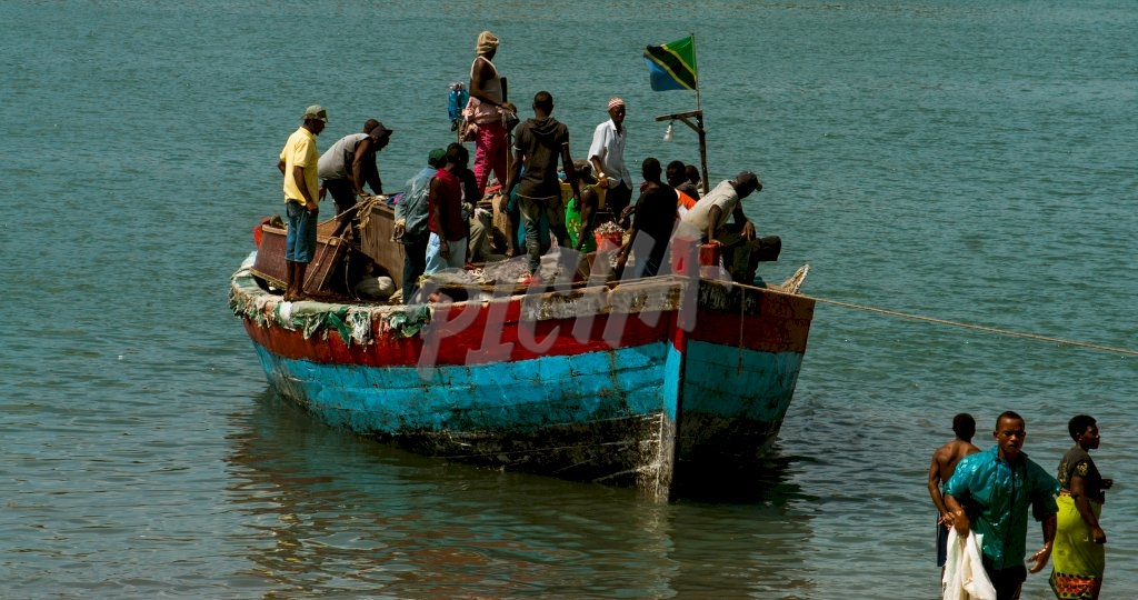 Boat with people