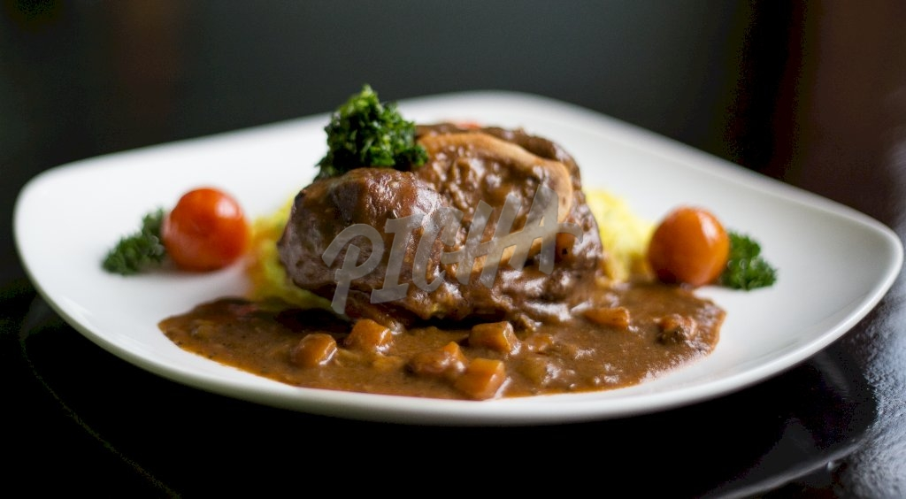 Plate of stew