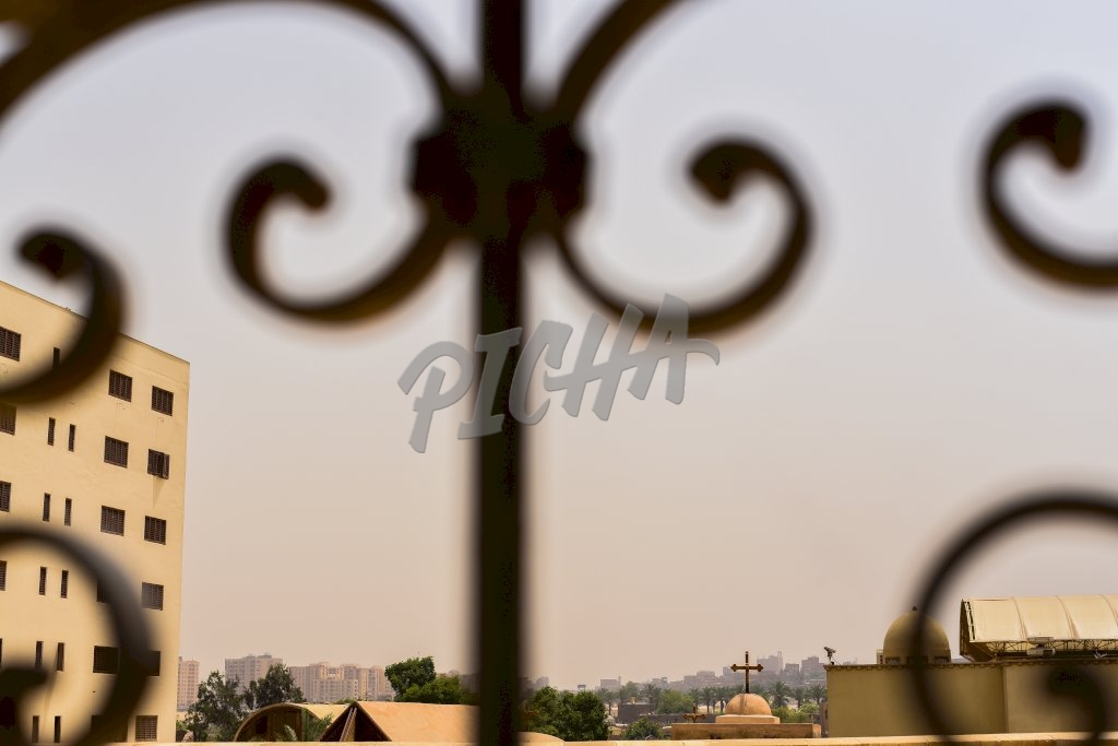Abstract view of Cairo, Egypt