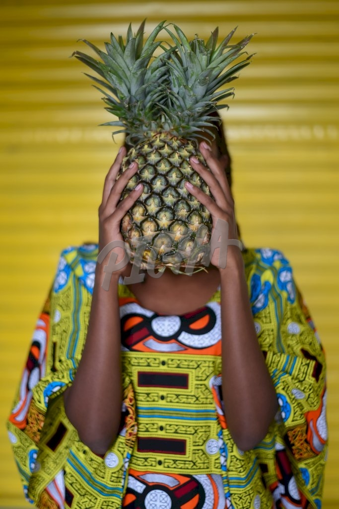 Here is a pineapple