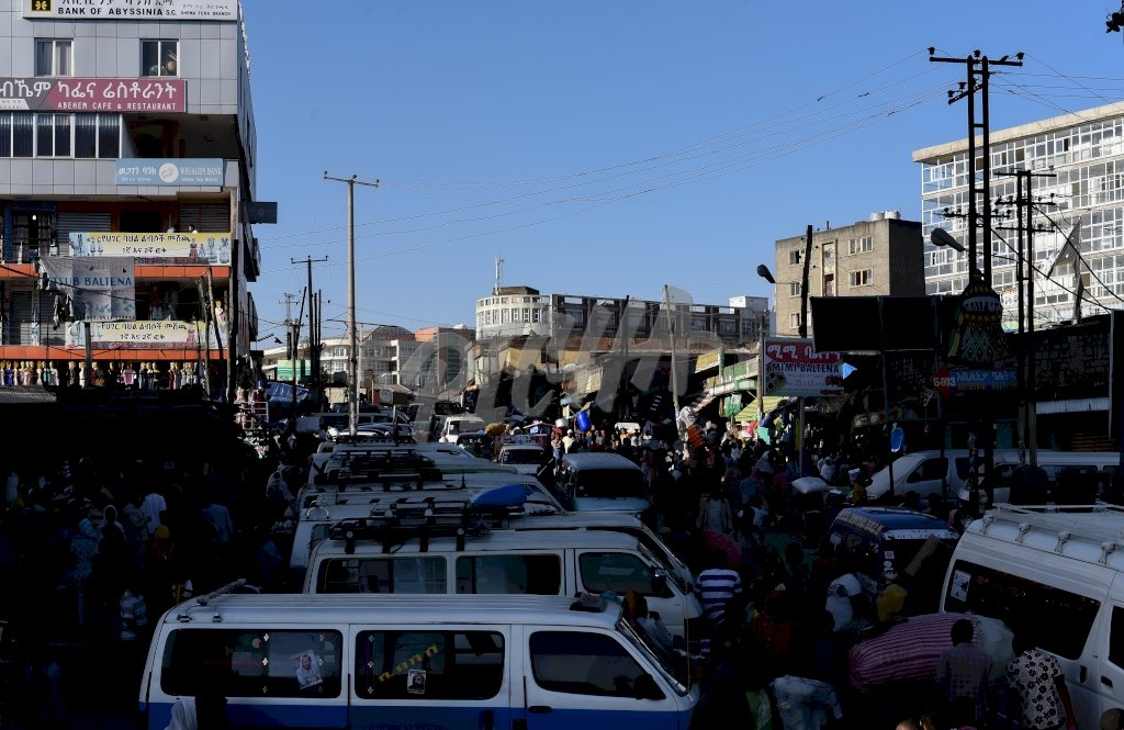Street life in Addis Ababa