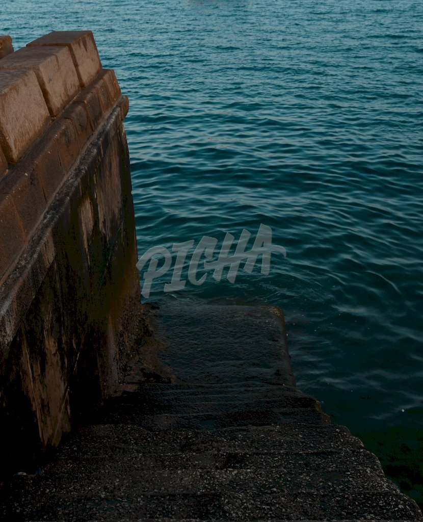 Staircase to the sea