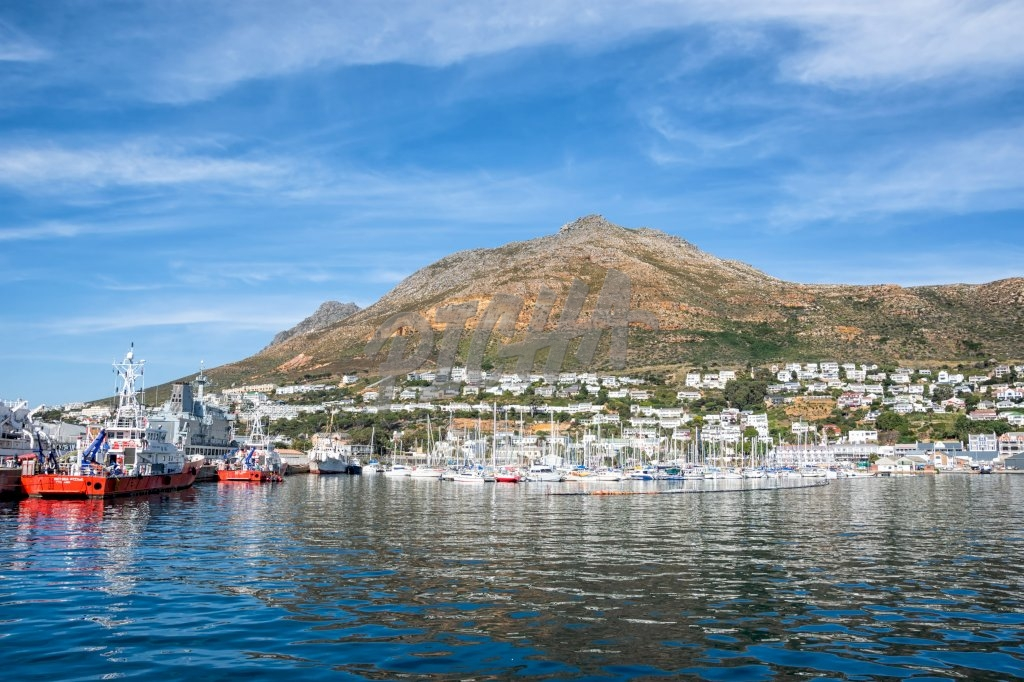 A view of Simon's Town on the False Bay