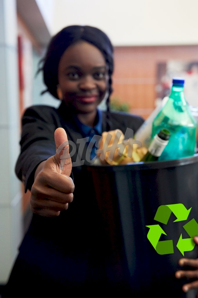 Thumbs up to recycling