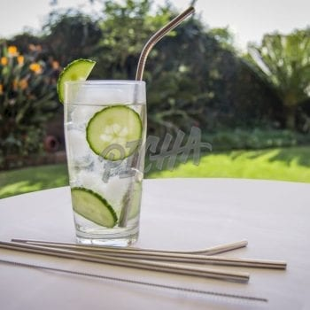 Glass of Flavoured cucumber water