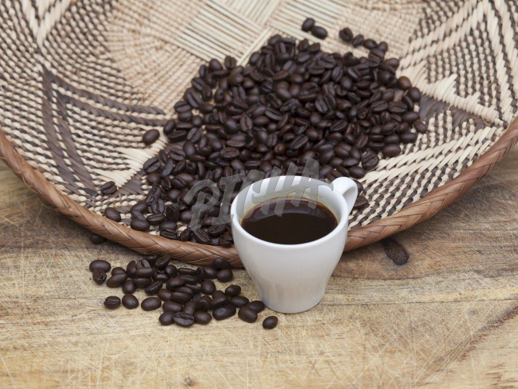 coffee beans on basket