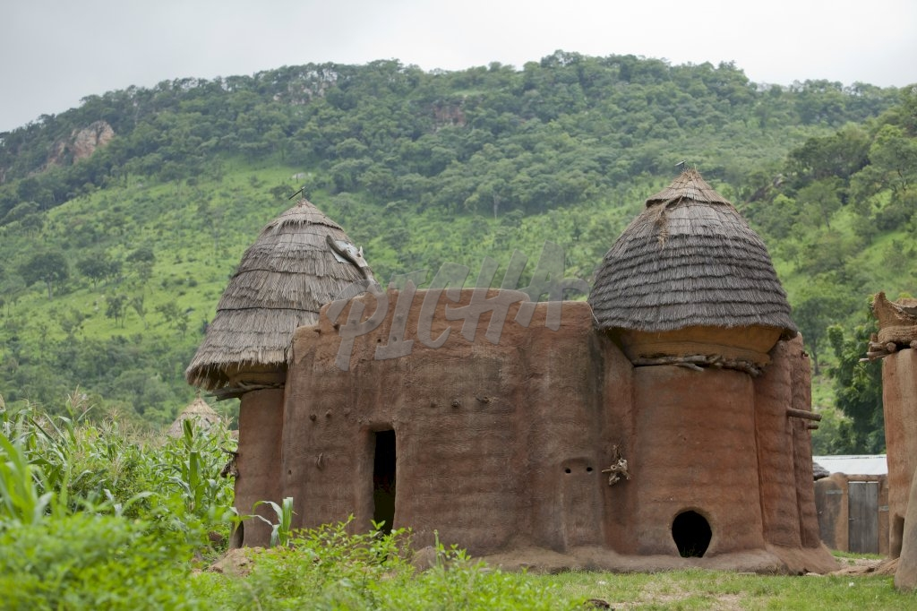 Tamberma house in Togo