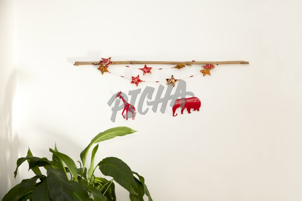 Christmas wall decoration
