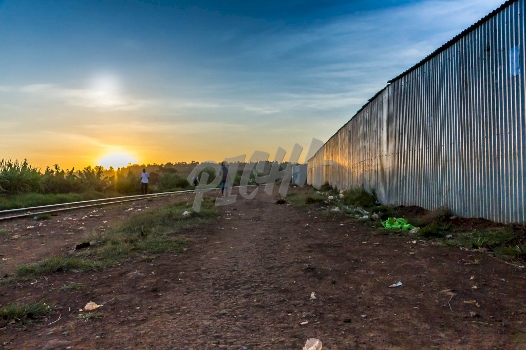 Sunset in Kibera| Kenya