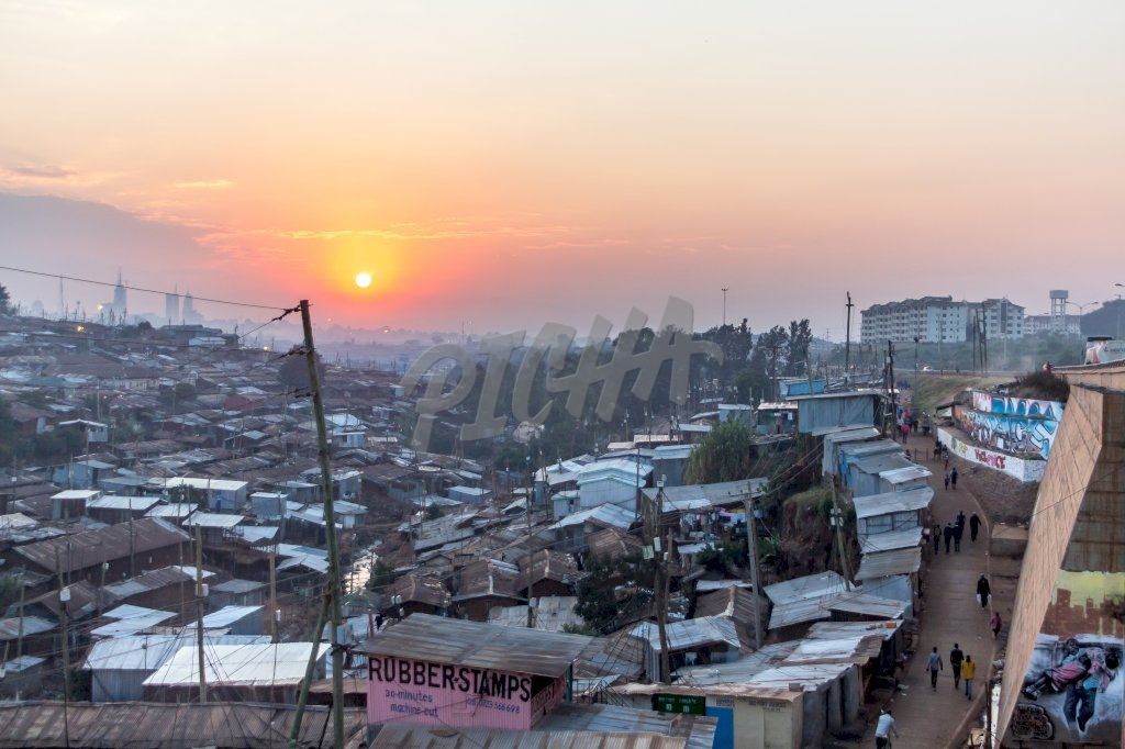 Sunrise in Kibera