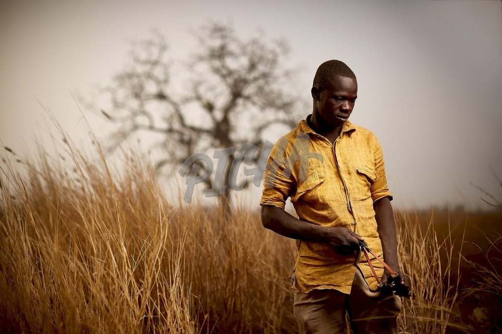 Man holding a fronde| Ghana