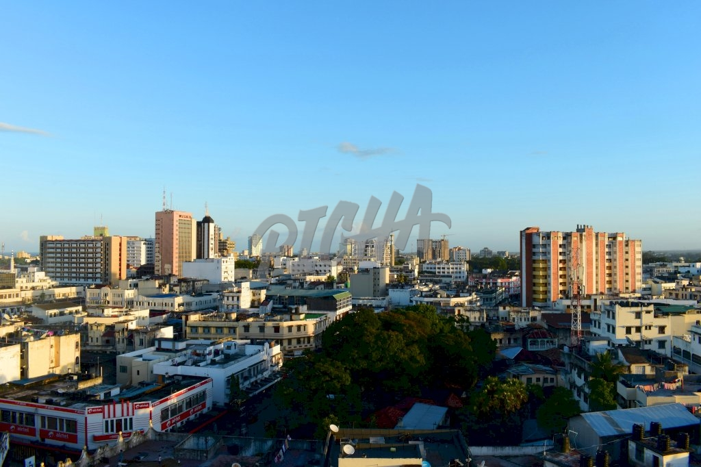 Mombasa City Sunkissed Rooftop from Nawal Centre