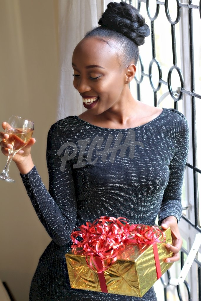 Holding a glass