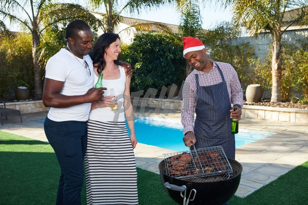 Christmas barbecue