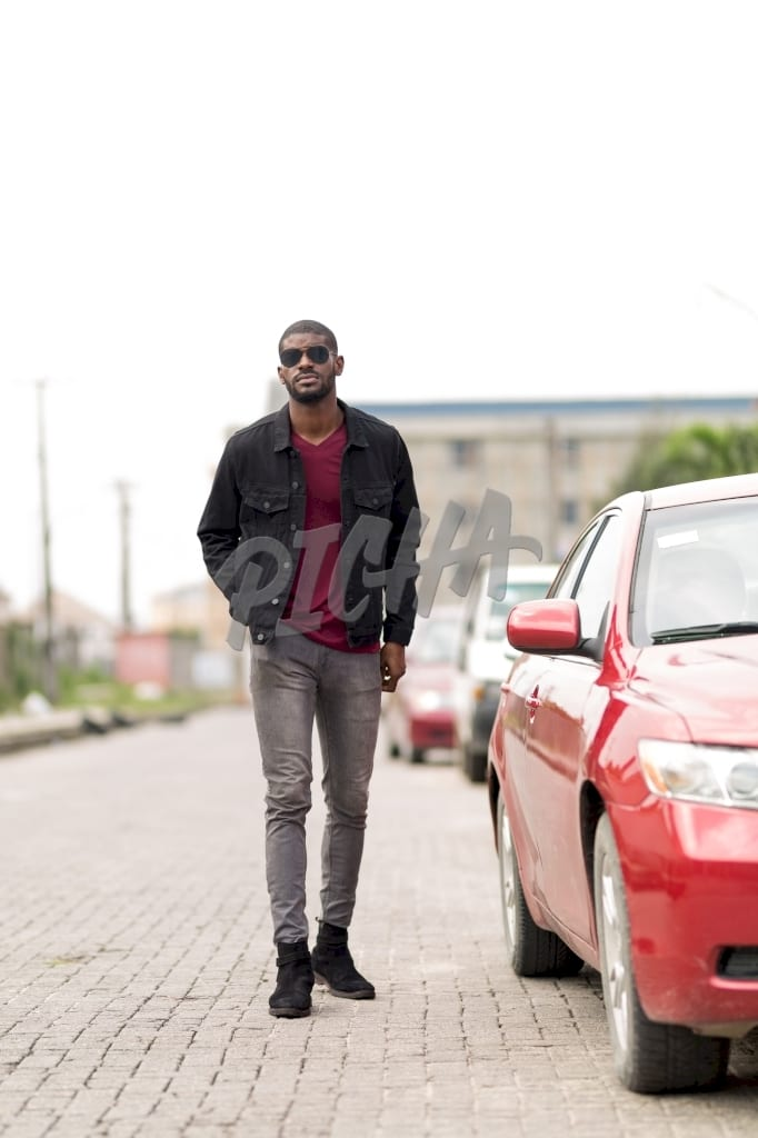 Stylish man in the street