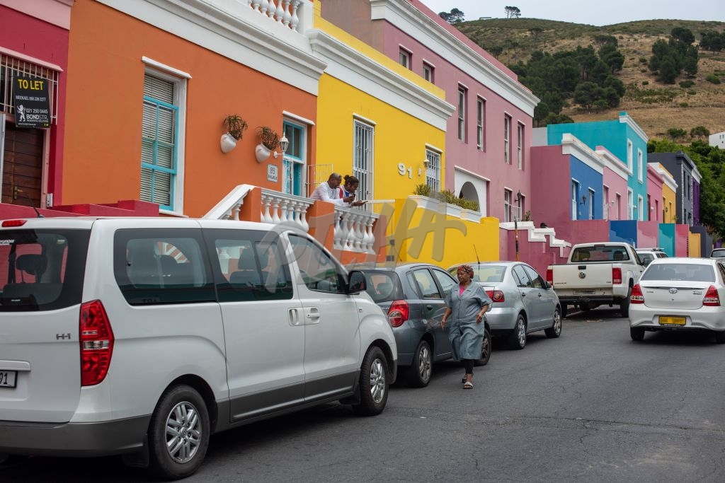 Colorful houses in Bo Kaap, Cape Town