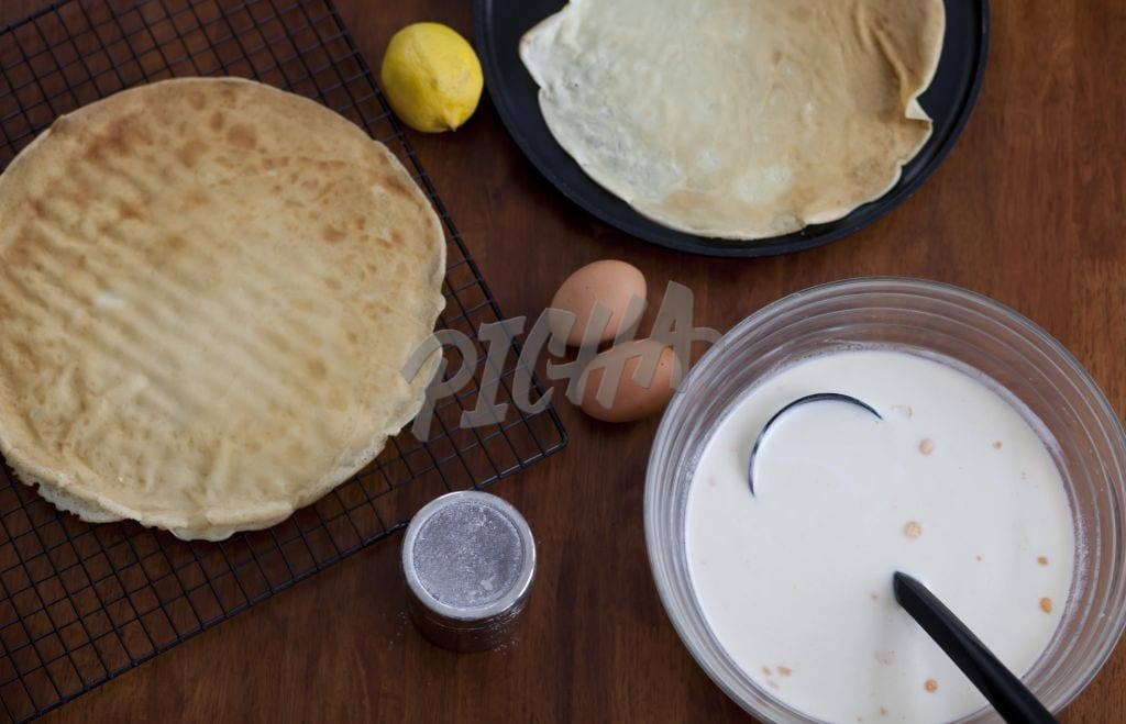 crepes making