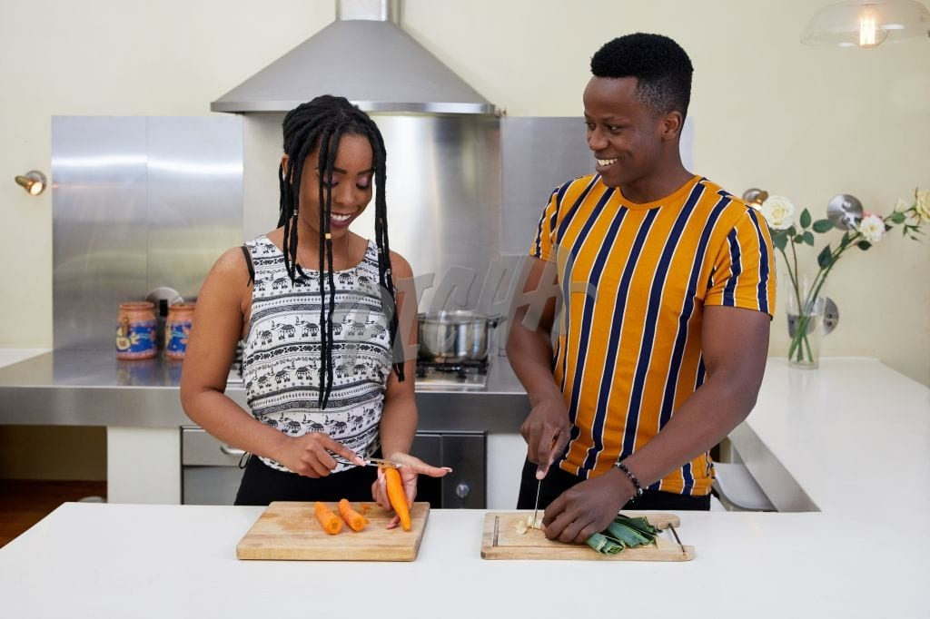 Couples cook