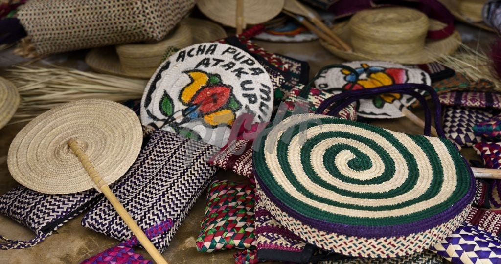 Various woven items