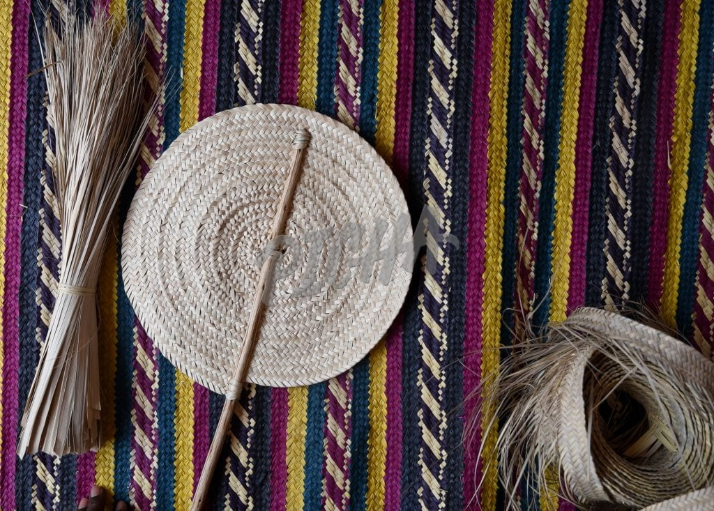 Hand woven items
