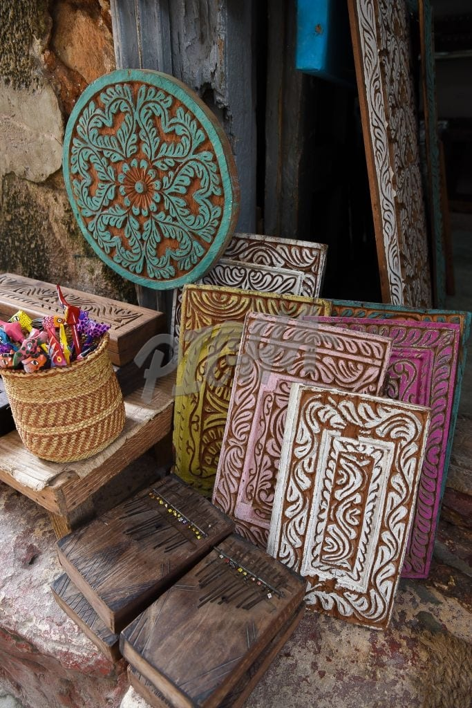 Wooden crafts galore