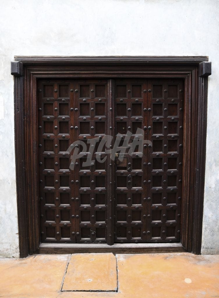 Studded Swahili door