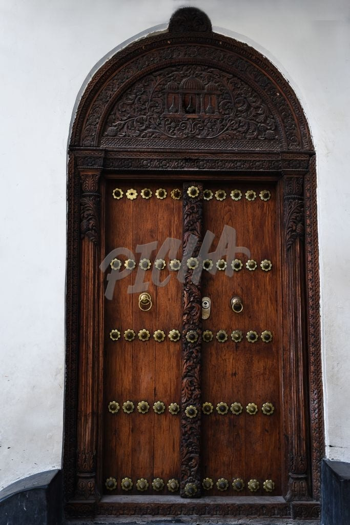 Vintage Swahili door
