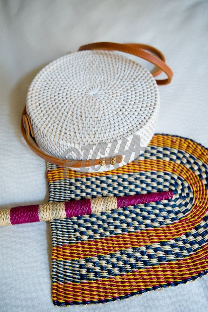 Skilled African Weaving