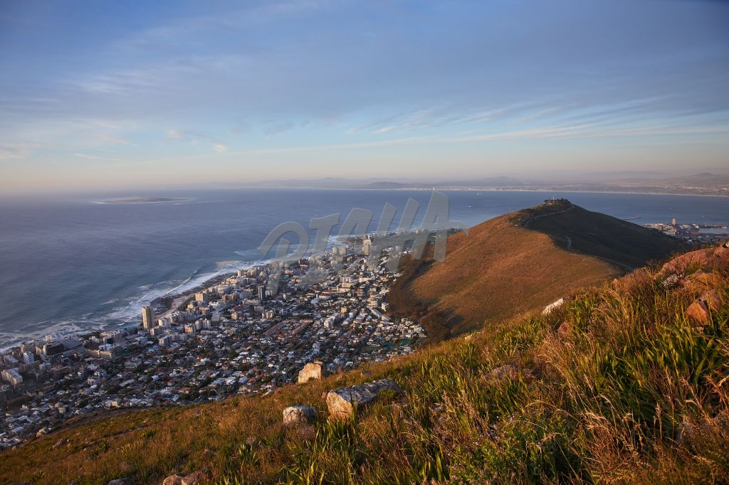 View of Signal Hill and Seapoint