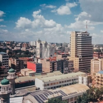 Film photo of Nairobi
