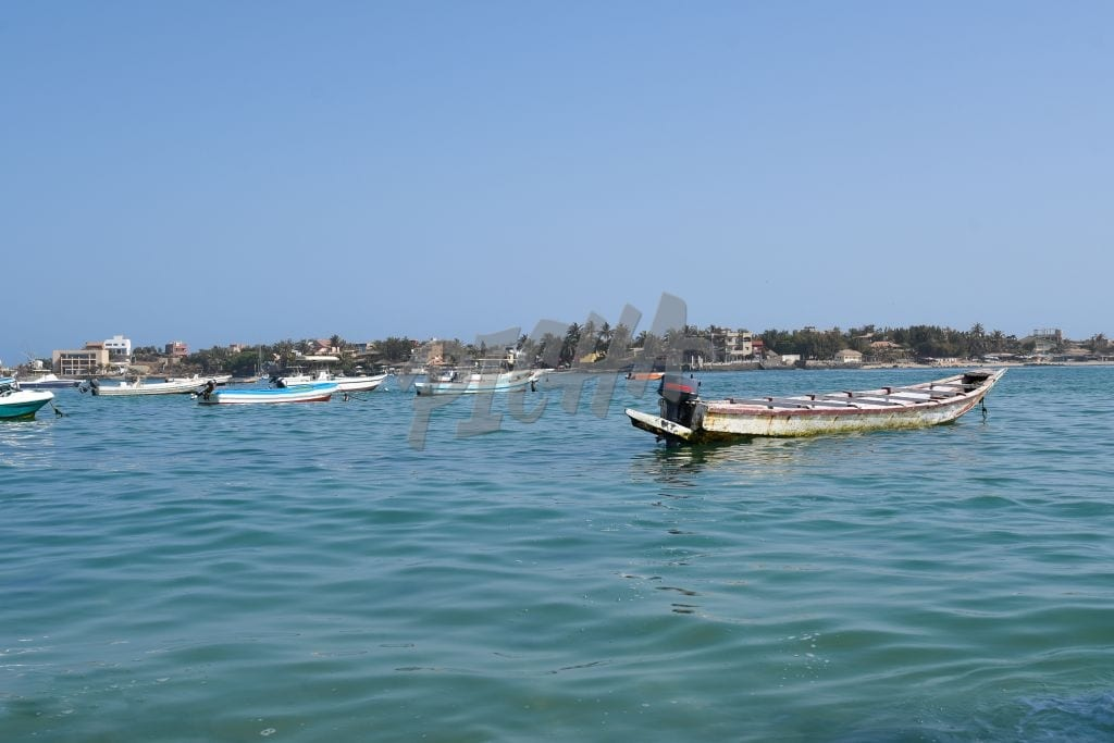 Fishing boats in the water