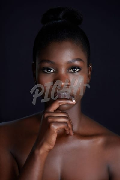 Beauty shoot of young woman