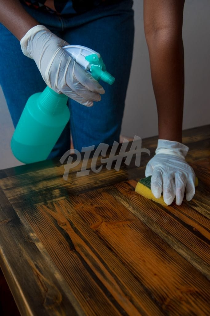 Sanitizing a table