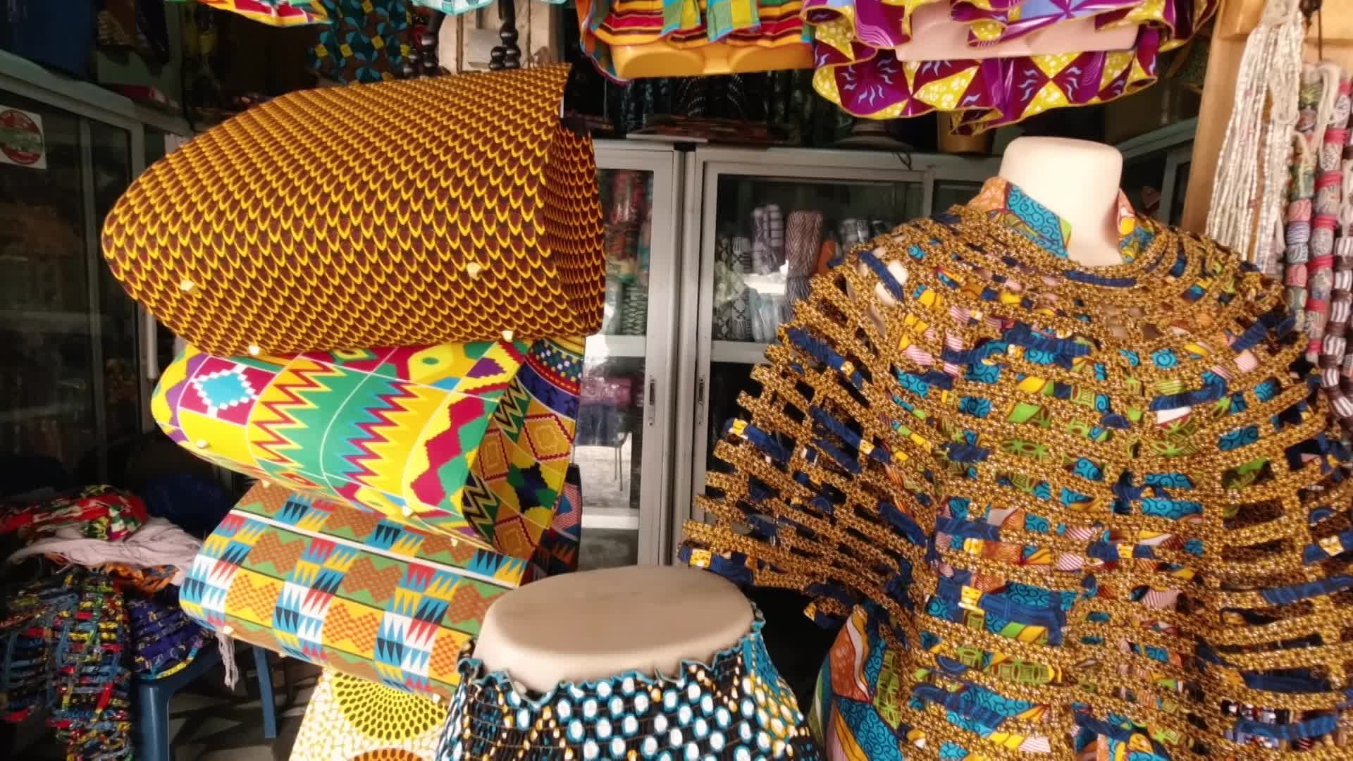 African clothing shop