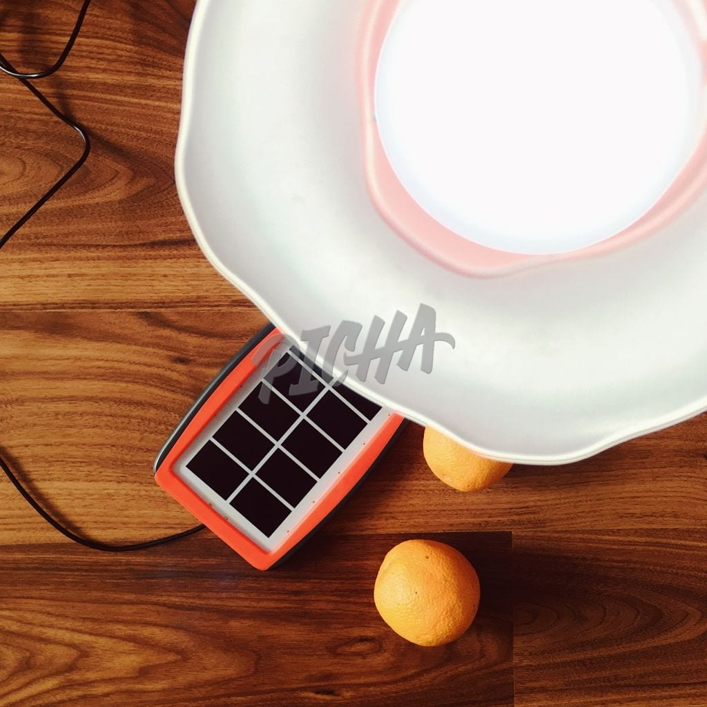 Solar powered lamp