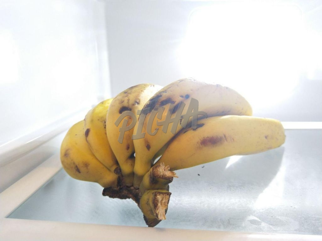 Ripped bananas