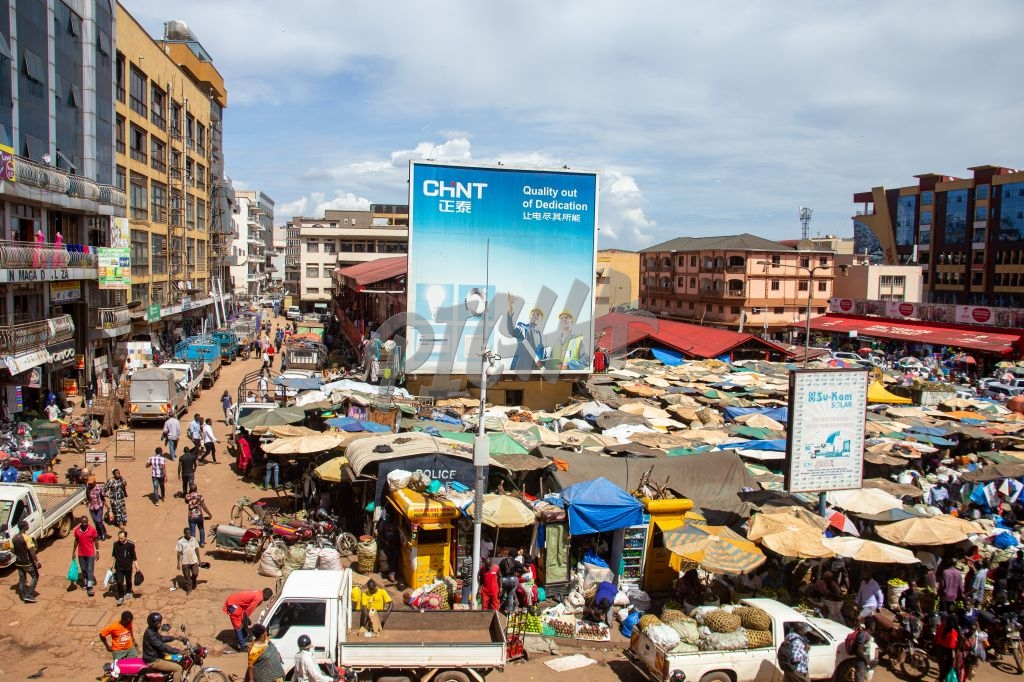The market place in Kampala