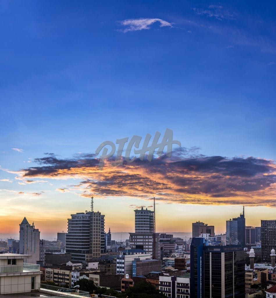 Nairobi City after daybreak
