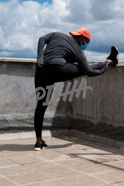 Stretching the hamstring