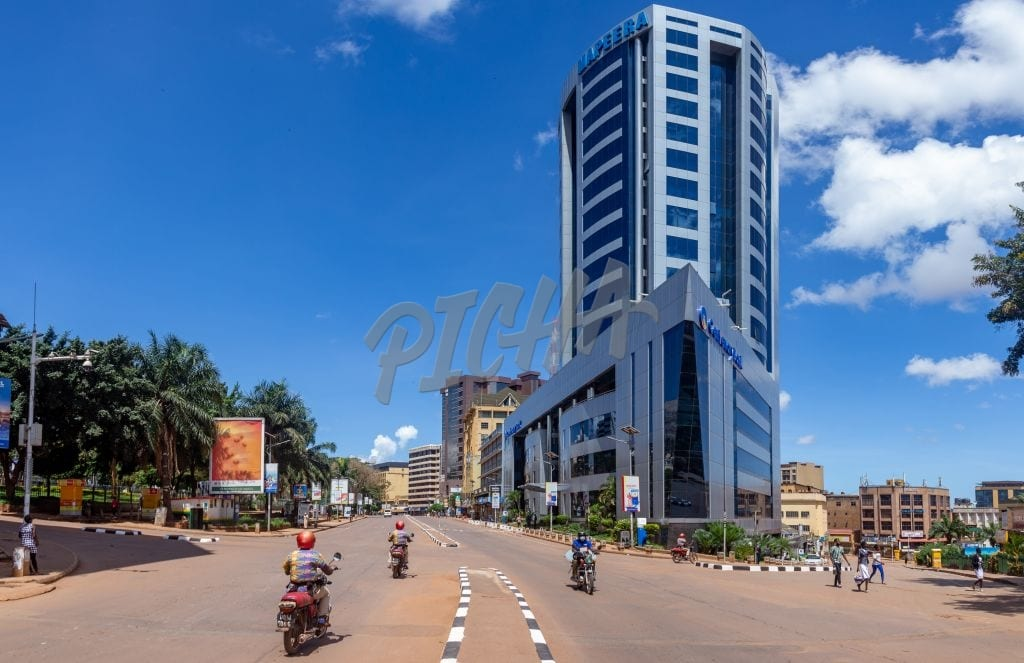 Kampala skyscrapers