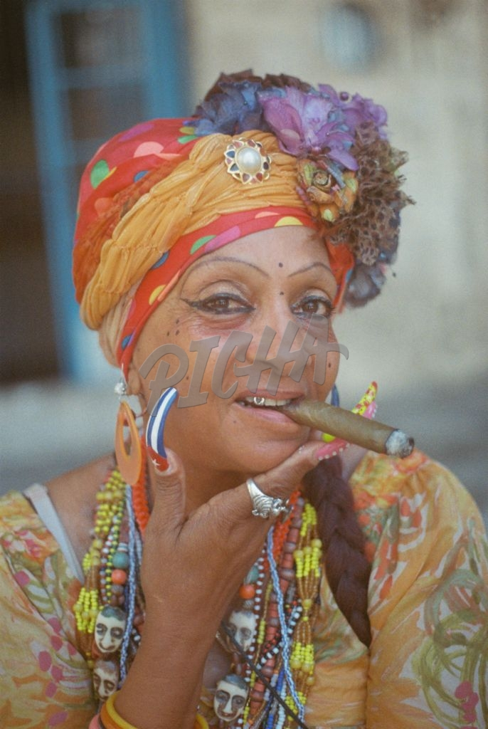 Old Havana Woman